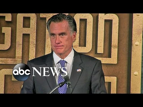 Mitt Romney Full Speech: Presidential Debates Didn't Address Key Issues