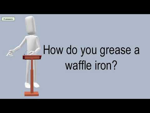 How Do You Grease A Waffle Iron?