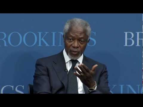 Kofi Annan: The Security Council Should Be Reformed