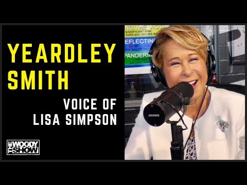 The Woody Show - Voice of Lisa Simpson, Yeardley Smith Stopped By!
