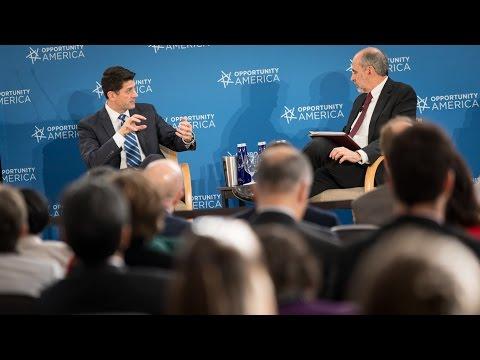 Speaker Ryan on Poverty Reforms