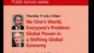 No One's World, Everyone's Problem: Global Power in a Shifting Global Economy (Slide-Audio)