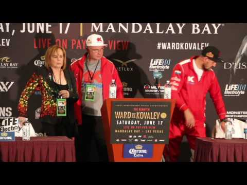 ANDRE WARD v SERGEY KOVALEV 2 (THE REMATCH) *FULL & UNCUT* COMPLETE POST FIGHT PRESS CONFERENCE