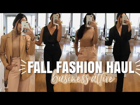 FALL FASHION HAUL | Wear To Work Outfits - Business Attire