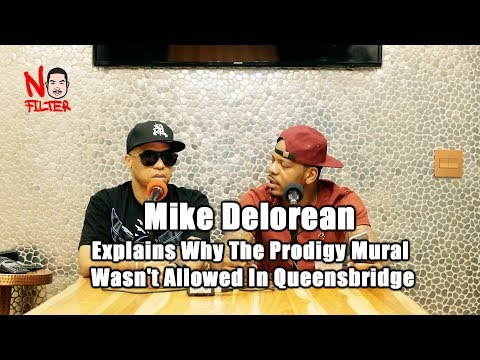 Mike Delorean Further Explains Why The Prodigy Mural Wasn't Allowed In Queensbridge