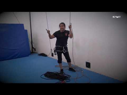 Rigging Acrobático-Montaje de Polipasto | Latiendo con el mundo