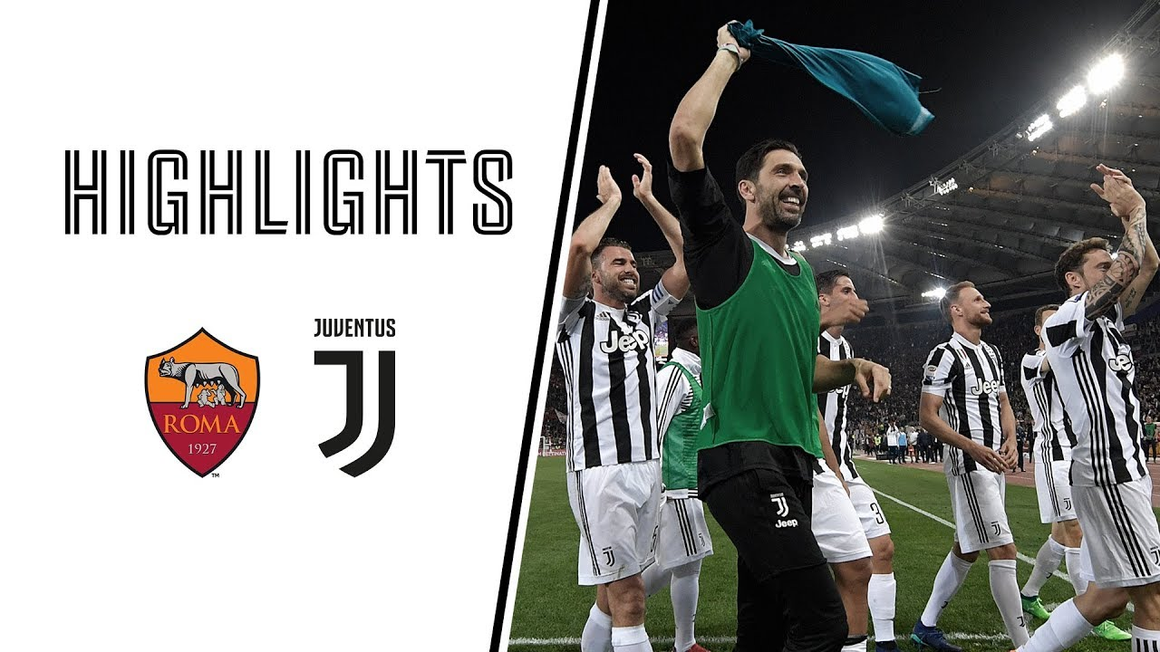 Highlights Roma Vs Juventus 0 0 Serie A 13 05 2018 Youtube