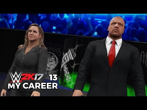 WWE 2K17 My Career Mode Ep 13 | THE AUTHORITY ARRIVES