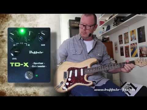 Buffalo FX: TD-X - Strat SSS - HIWATT demo