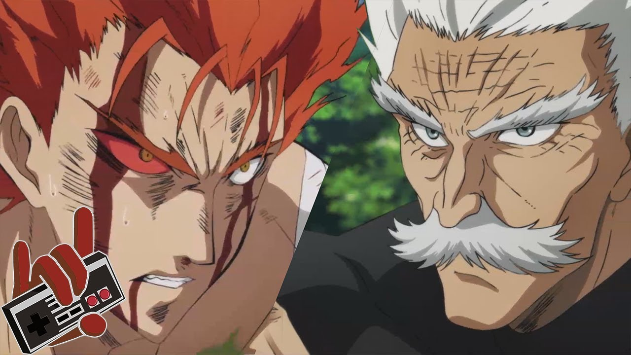 One Punch Man Season 2 EP11 - Garou Vs  Bang/ Bangs Theme Full Ver  | Epic  Rock Cover