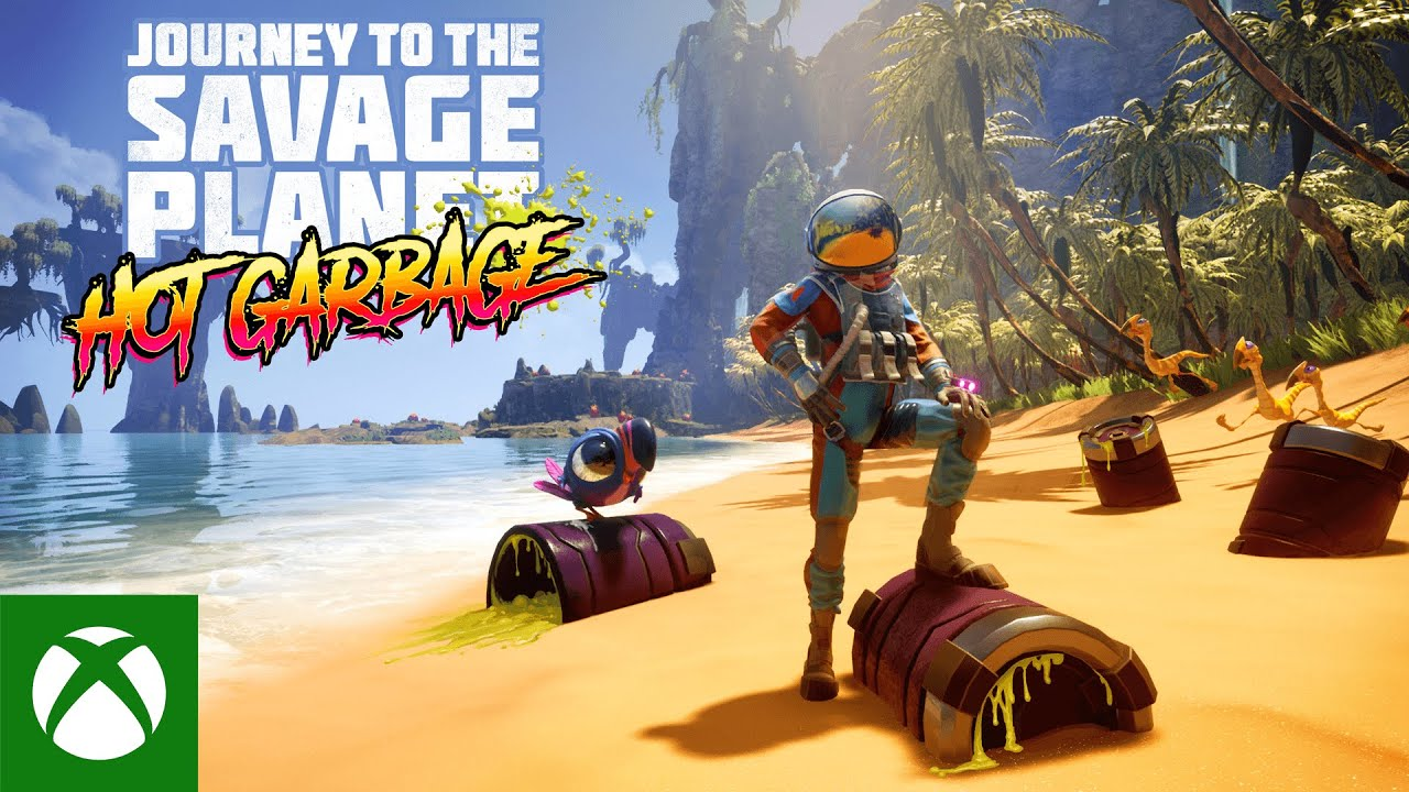 Journey to the Savage Planet : que vaut son DLC, Hot Garbage ...