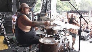 Silent Planet - Panic Room [Alex Camarena] Drum Cam (Van's Warped Tour 2017) Atlanta, GA