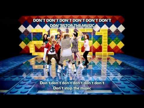2NE1  Dont Stop The Music Hangul + Romanization + Eng Sub MV
