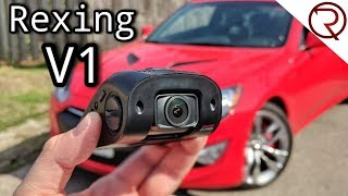 2018 Rexing V1 3rd Gen 4K Dash Camera Review & Sample Footage
