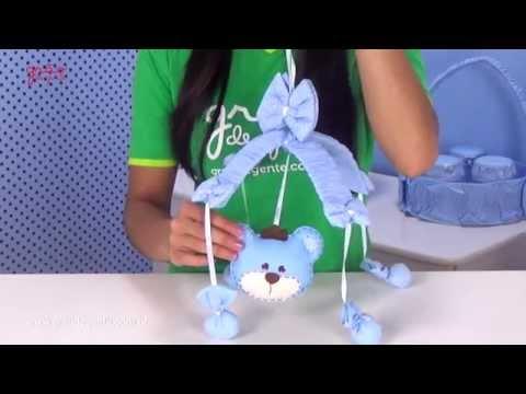 Móbile Urso Realeza Azul | Ref: 45273