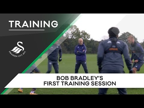 Swans TV - Bob Bradley's first training session