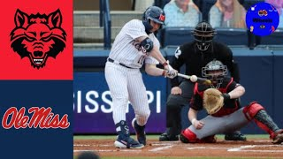 Arkansas State vs #1 Ole Miss Highlights | 2021 College Baseball Highlights