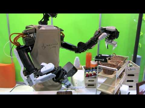 Coffee-serving robot by Kawada Industries