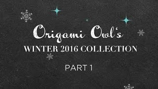 Origami Owl Holiday 2016 Collection Reveal: Day 1