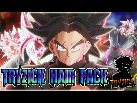 Dragonball Xenoverse 2 - Hair Pack  - Tryzick