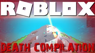 Roblox - Natural Disaster Survival : Death Compilation With Subs!