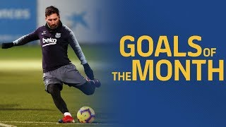 GOALS OF THE MONTH | November