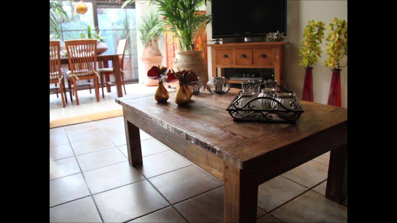 rustiek teak meubels interieur klanten van teakpaleis