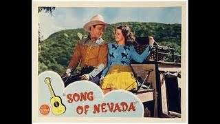 Roy Rogers Song of Nevada 1944 Westerns