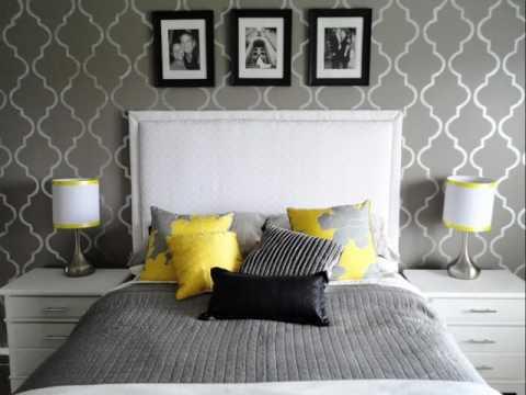 Gray Wallpaper for Master Bedroom ideas