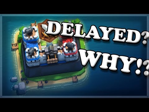 WHERE IS CLAN WARS? | Clash Royale 🍊