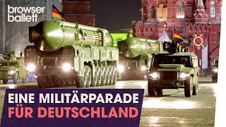 Eine Militärparade für Deutschland