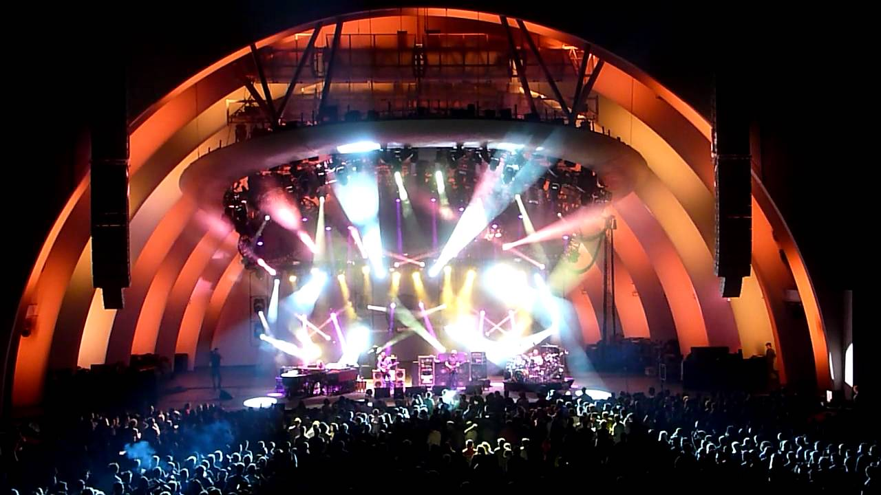Phish  Back On The Train  Hollywood Bowl  8811