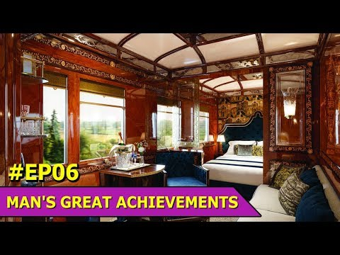 Trains | The Orient Express | The Royal Mail Train | Man'S Great Achievements | Episode 6