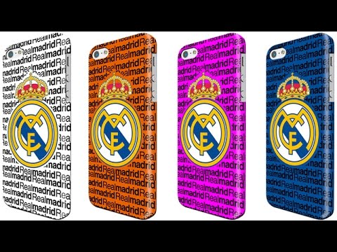 Fundas carcasas iphone 4 4s 5 5s 6 plus real madrid cf youtube - Fundas del real madrid ...