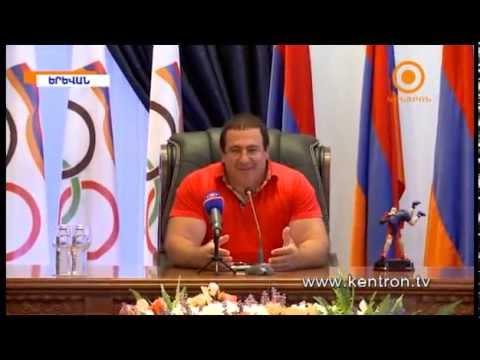 Գագիկ Ծառուկյանը ճանապարհել է Բաքու մեկնող մարզիկներին