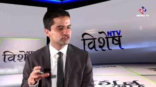 Yogeshwor Amatya on NTV Bisesh with Dhruba Raj Aryal