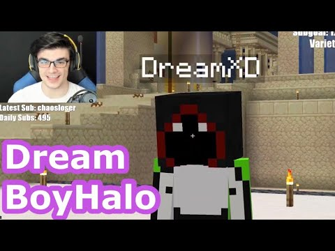 Dream Gives PLAYER HEADS of the Dream SMP Members to BadBoyHalo and Foolish Gamers! *Rare Items*