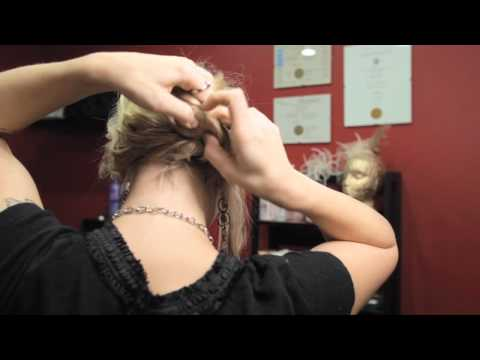 How To Do Your Own Updo - Side Knotted