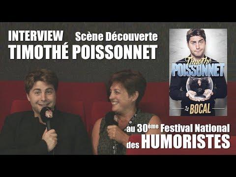 Les RDV Cultur'L Scène découverte avec Timothé POISSONNET   Festival des Humoristes 2018