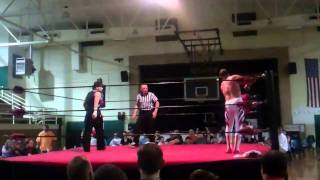 The Rocket vs. Jordan JAA (GCW Zero Gravity Title) Morgan City, Louisiana