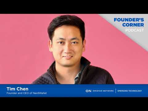 Tim Chen, Founder and CEO of NerdWallet
