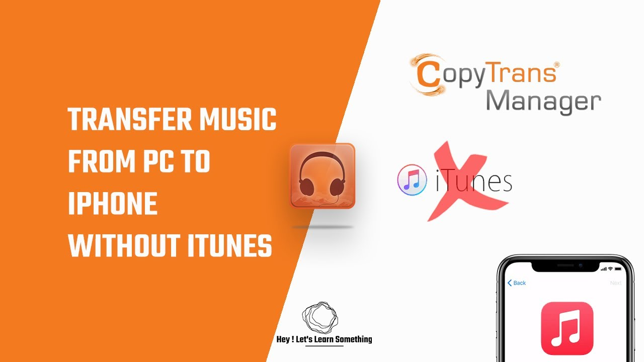 How to transfer music from pc to iPhone without iTunes  Windows   Copytrans manager tutorial  8
