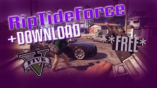 RIPTIDE Force BEST FREE GTA 5 MOD MENU + DOWNLOAD(PS3) (1.26/1.27)