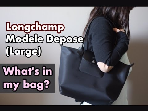 What's in My Bag? // Longchamp Planetes - Large // Business Trip Essentials
