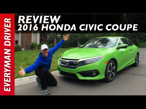 My Green Car Review 2016 Honda Civic Coupe On Everyman Driver