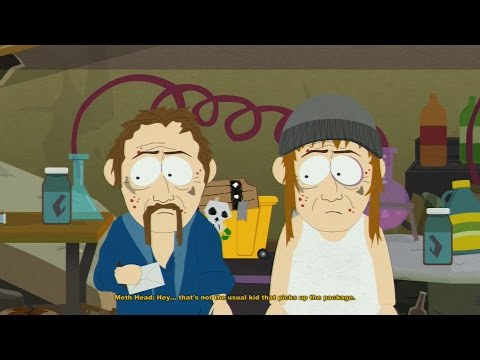 Let's Play South Park Stick Of Truth (BLIND) Part 6: METH-HEADS