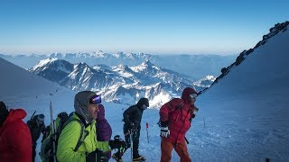 Elbrus - Mountaineering passion in the Caucasus Mountains