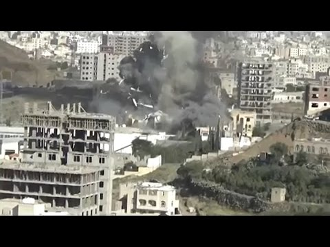 Attack on funeral hall in Yemen