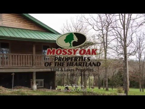 Log Home on 80 Acres South of Ava, MO