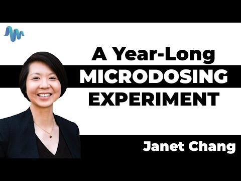 A Year-Long Microdosing Experiment   Janet Chang